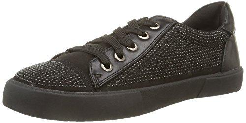 North Star 5416111, Sneaker,Donna, Nero (Black), 38