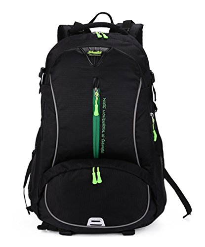 Rucksäcke Stil Freizeitrucksack Tasche Schwarz Damen neuer accessories Einfache Tasche Qualität hohe Keshi Schultertasche 5UPnqxwaw