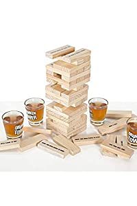 Original Cup-Drunken Juego de Beber para Soirées étudiantes, Tower