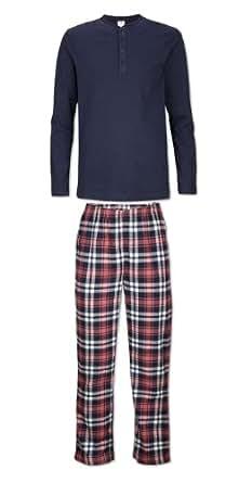 s.Oliver Jungen Pyjama 61.311.88.8543, Gr. 170/176 (XL), Blau (5850)