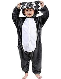 DELEY Unisex Niños Pijama Dibujos Animados Animales Ropa De Dormir Fiesta De Halloween Cosplay Costume
