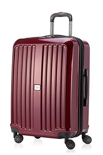 Hauptstadtkoffer, Valise Unisexe Adulte Rouge Rot glänzend 65 cm