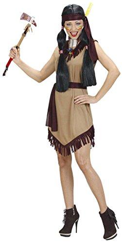 WIDMANN Widman - Disfraz de indio del oeste para mujer, talla M