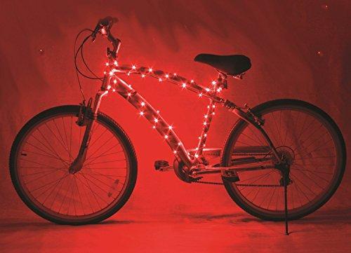 Tankerstreet impermeabile LED bicicletta sicurezza telaio bici