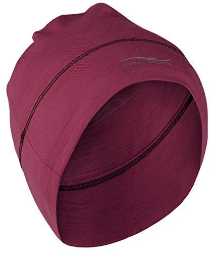 Engel Sports Mütze - wärmend, sportlich, stylisch   GOTS-zertifizierte Funktionswäsche Tango Red