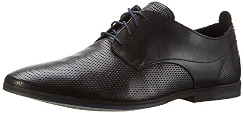 Clarks Otoro Walk, Scarpe Stringate Uomo Nero (Black Leather)