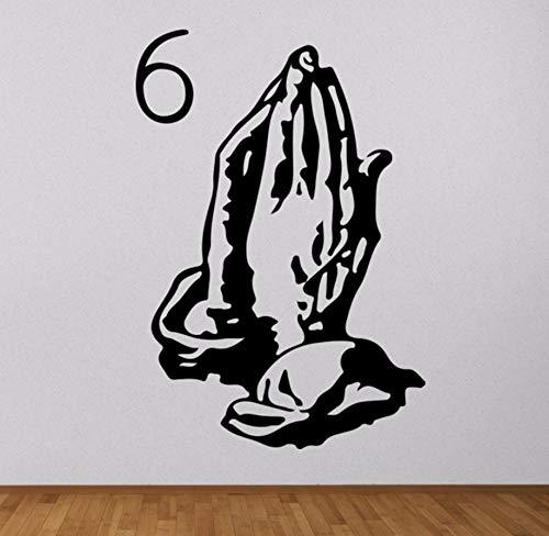 (Pbldb 39X57 Cm Vinyl Aufkleber6 God Rap Hip Album Cover Abnehmbare Wandtattoo Wandbild Tapete)
