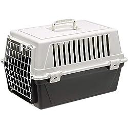 Ferplast Atlas 10EL, panier de Transport pour chats et Chiens, colori noir