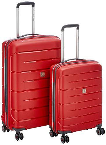 Starlight 2.0 Juego de Maletas, 110 Liters, Rojo (Rosso)