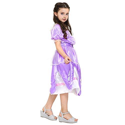 Katara Sofia Die Erste Kleid Kostum Fur Madchen In Lila