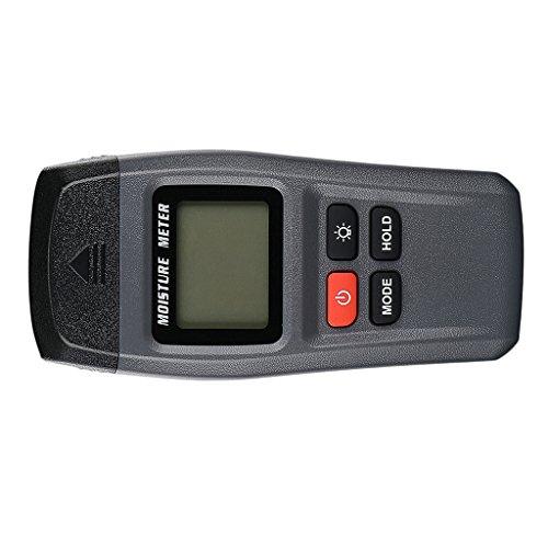 D DOLITY Digitale Holzfeuchtigkeits-Tester LCD Display Tester Detektor Hygrometer Holz Feuchtigkeitsmesser Holzfeuchte Zähler