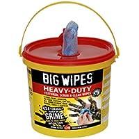 BIG WIPES 2427-4 X 4-Pulgadas De Altas Prestaciones De Limpieza Toallitas (Paquete De 240)
