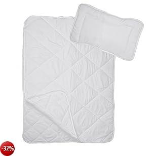 Premium 4stagioni Trapunta Coperta da letto per bambini | Baby Quilt in microfibra 100x 135cm in set con 1X federa per cuscino 40x 60cm