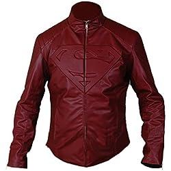 F&H Boy's Superman Jacket S Maroon
