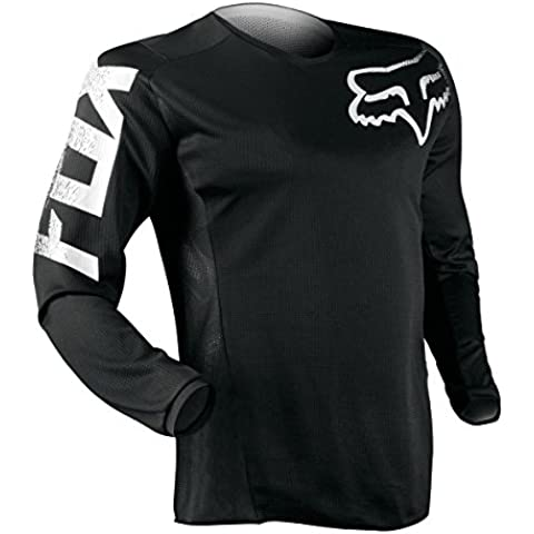 Fox Jersey Blackout - Negro, XL
