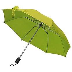 Taschen-Regenschirm / mit Schutzhülle / Farbe: apfelgrün