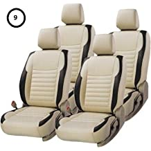 Khushal Leatherite Car Seat Cover For Renault Kwid Front And Back Seat Covers Set in Best Quality Faux Leather KS056RKWID