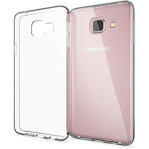 delightable24 Caso Case de la Cubierta de TPU Silicona SAMSUNG GALAXY A3 (2016) Smartphone - Transparente