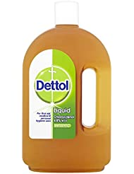 Dettol Original Liquid Antiseptic Disinfectant for First Aid, 750 ml