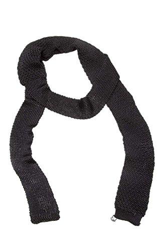 Diesel Herren Krawatte TRYSTRAIL SCIARPA, Farbe: Schwarz, Größe: One Size