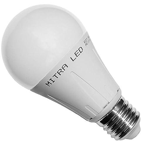E27 LED warmweiss ca. 90 Watt ersatz Tropfen 1030 Lumen