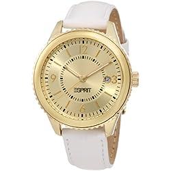 Esprit Damen-Armbanduhr Marin Eclipse Analog Quarz Leder ES105142003