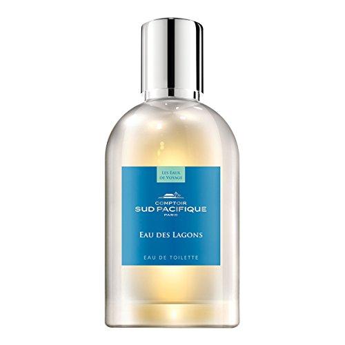 Comptoir Sud Pacifique Eau De Lagons Eau de Toilette Natural Spray, 100 ml