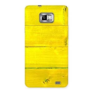 Yellow Wood Backyard Back Case Cover for Galaxy S2