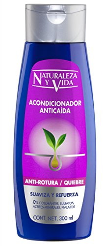 Naturaleza y Vida Maschera capelli Anticaduta Antirotura - 300 ml