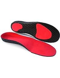 Sevjoy Plantillas ortopédicas, soporte deportivas plantillas, para ayudar a reducir el dolor en el talón, fascitis plantar, rodilla/dolor de espalda y tendinitis de Aquiles