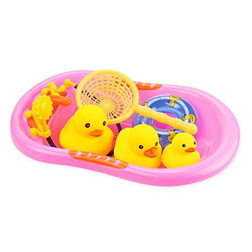 1 Set Baby Toy Kids niedliche Dusche pädagogische Bad Spielzeug niedliche Gummi squeaky Duck Ducky