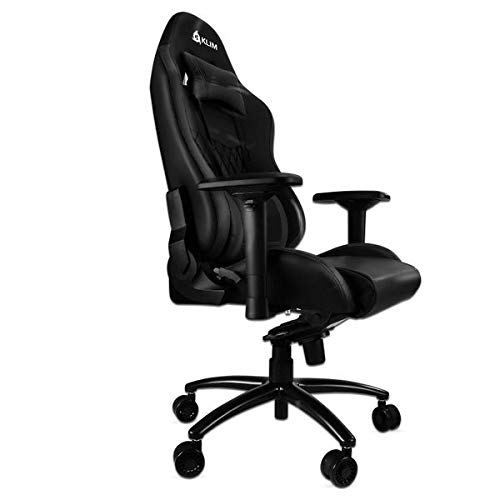 KLIMTM Esports - Chaise Gamer Très Haute Qualité - Finitions Soignées - Ajustable - Ergonomique - Inclinable - Confortable - Siege Bureau - ... 4