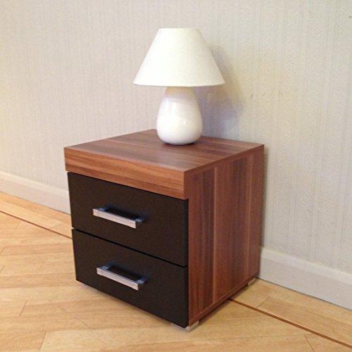 Black Walnut 4 Drawer Chest 2 Drawer Bedside Cabinet Bedroom Furniture Search Furniture