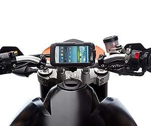 Moto Pro Guidon Vélo Balle Monture avec Rigide étanche étui rigide pour Samsung Galaxy S3 SIII