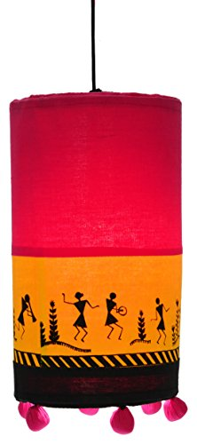 Rangresha Fabric Lamp Shade/Makar Sankranti Decorations/Pongal/Home decorations