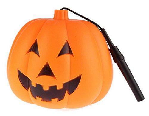 Eozy Kürbis Lichter Halloween Lampe Laterne Kürbis Nachtlicht Spielzeug Requisiten