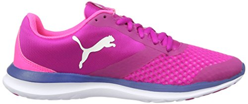 Puma Flext1, Sneakers Basses Mixte Adulte Rose (Ultra Magenta-puma White 06)