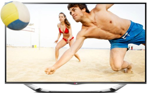 LG 42LA6918 107 cm (42 Zoll) Cinema 3D LED-Backlight-Fernseher, EEK A+ (Full HD, 400Hz MCI, WLAN, DVB-T/C/S, Smart TV) silber