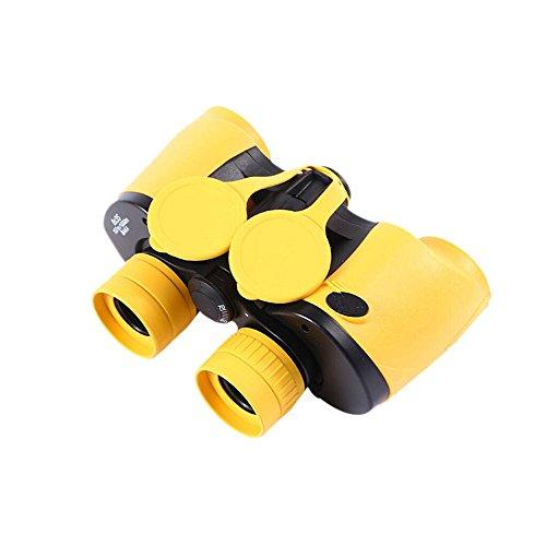 LXYFMS Erwachsene/Kinder wasserdichte 8x35mm Gelbe Ferngläser + Fernglashalter + Aufbewahrungstasche Beim Wandern Beim Campingrudern Teleskop