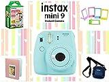 #3: Fujifilm Instax Mini 9 Joy Box with Instant Camera (Ice Blue)