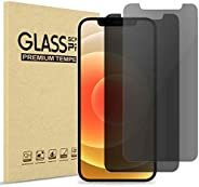 ProCase Privacy Screen Protector for iPhone, Anti-Spying Dark Tempered Glass Screen Film Guard, Anti-Glare Ant