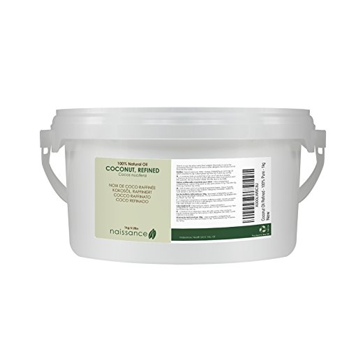 Olio di Cocco Raffinato - Olio Vegetale Puro al 100% - 1kg
