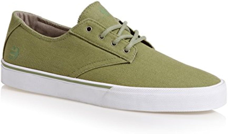Etnies 4101000477 - Zapatillas de Lona para Hombre Blanco, Color Verde, Talla 47  -