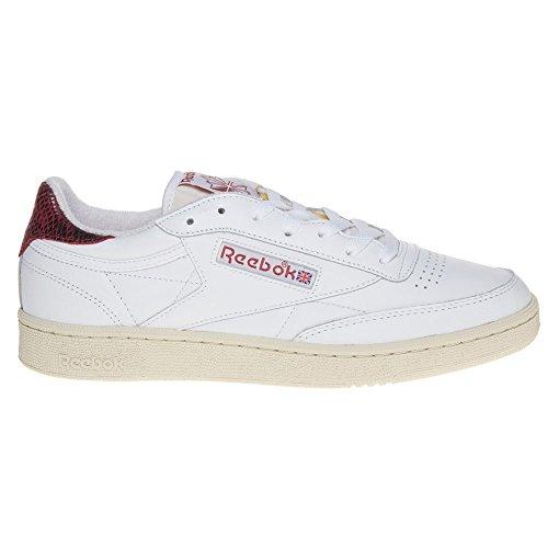 Reebok Club C 85 Herren Sneaker Weiß Weiß