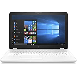 "HP Notebook 15-bs091ns - Ordenador Portátil de 15.6"" HD (Intel Core i3-6006U, 8 GB RAM, 1 TB HDD, Intel HD Graphics 520, Windows 10); Blanco - Teclado QWERTY Español"