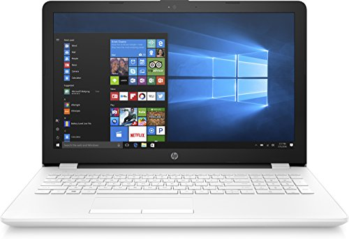 HP 15-bs060nf PC Portable 15' Blanc (Intel Celeron, 4 Go de RAM, 500 Go, Intel HD Graphics 400, Windows 10)