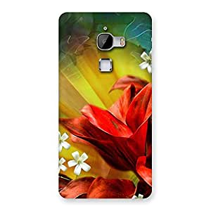 Beautiful Flowers Design Back Case Cover for LeTv Le Max
