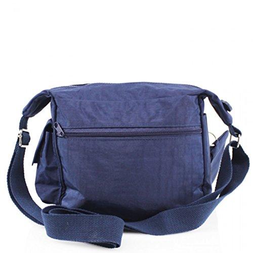 BagStore, Borsa a tracolla donna nero Grey Light Blue