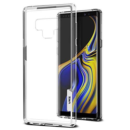 Price comparison product image VRS Design Galaxy Note 9 Case,  [Clear] Clear Heavy Duty Protection [Crystal Chrome] Anti-Yellowing Acryl back TPU bumper for Samsung Note 9 (2018)