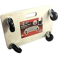 Move-it 11027transporte Dolly con almohadillas de agarre, de madera
